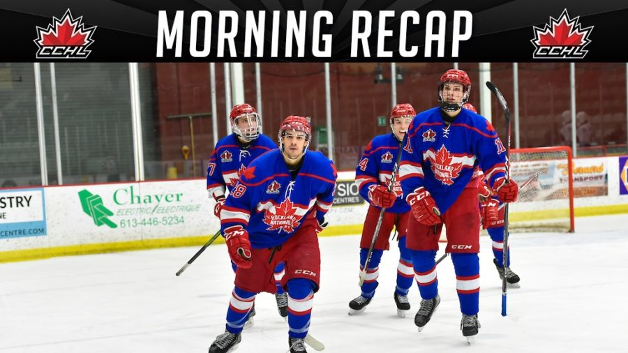 Morning Recap | Five Games of action in busy Friday night